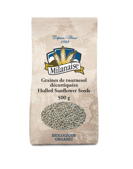 Organic Hulled Sunflower Seeds
