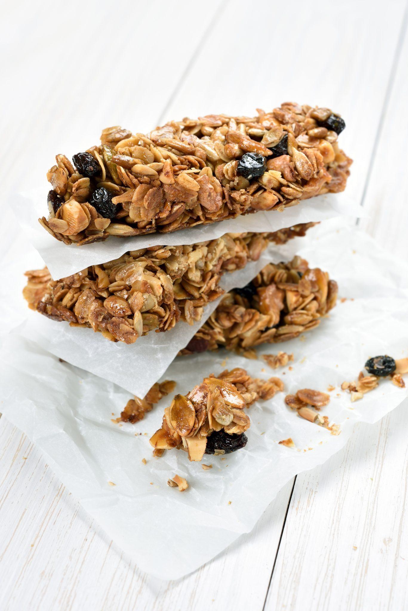 Barre granola au Khorasan