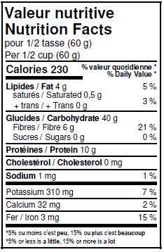Organic Whole Oat Flour – La Milanaise