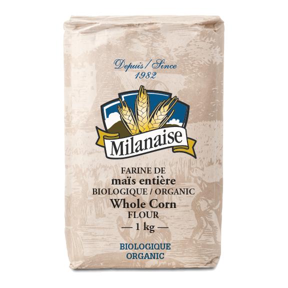 Farine de maïs entière biologique