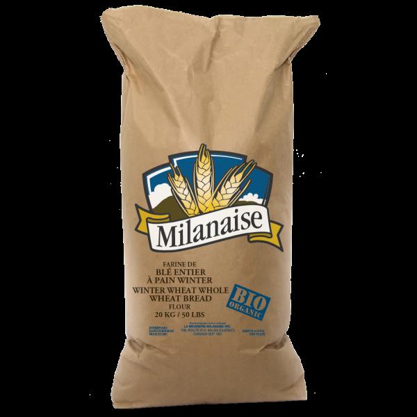 Farine de blé entier à pain Winter biologique