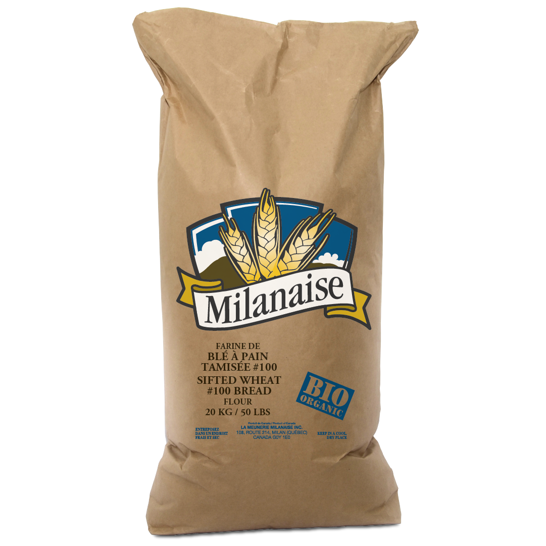 Organic Sifted Wheat #100 Bread Flour