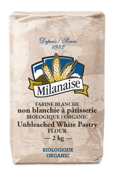 Organic White Unbleached Pastry Flour