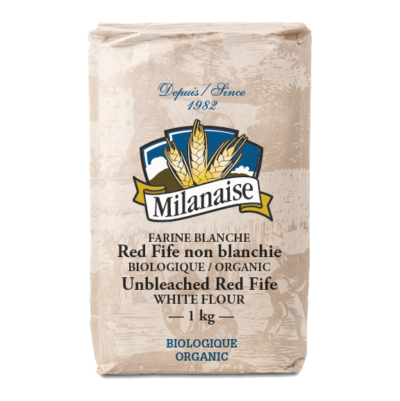 Organic Unbleached White Red Fife Flour
