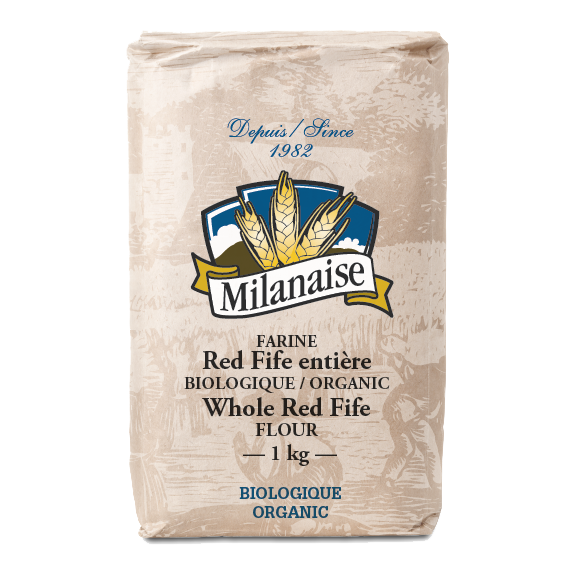 Farine Red Fife entière biologique