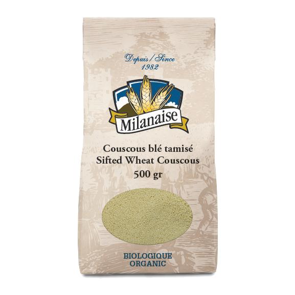 Couscous blé tamisé biologique