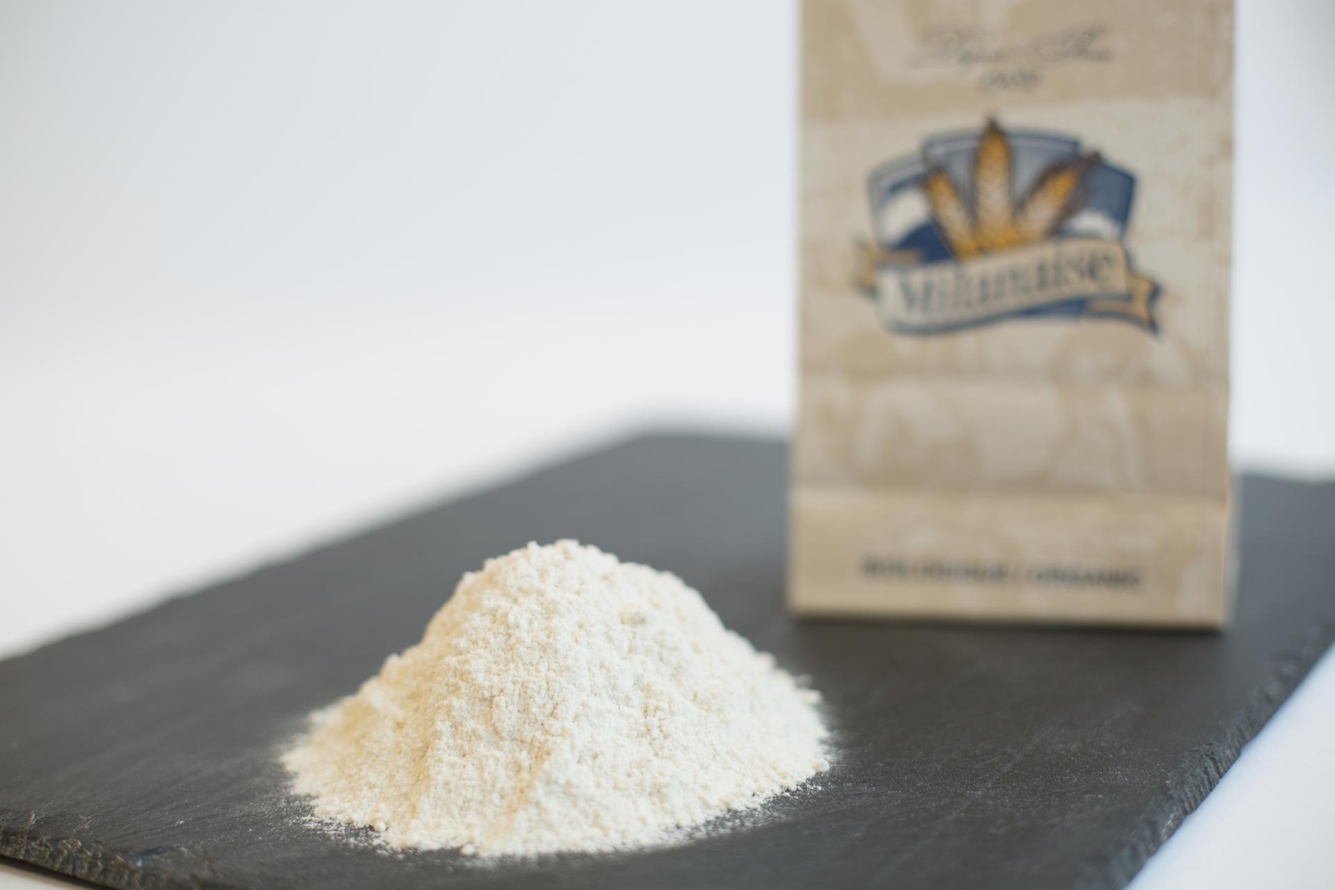 Organic Unbleached White Winter Wheat Flour