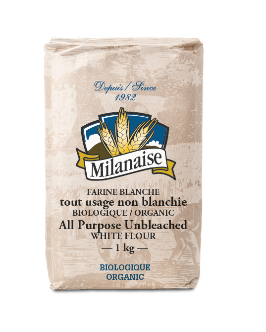 Organic All Purpose Unbleached White Flour