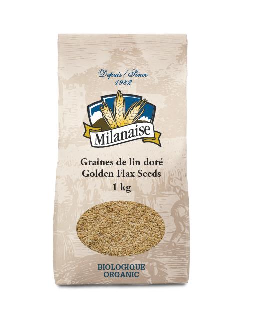 Organic Golden Flax Seeds