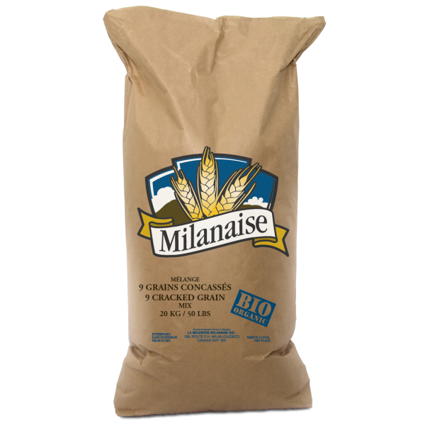 Mélange 9 grains concassés biologique