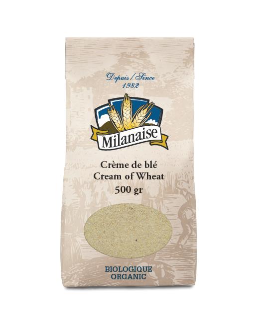 Crème de blé biologique