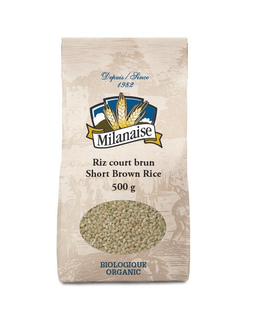 Organic Short Brown Rice