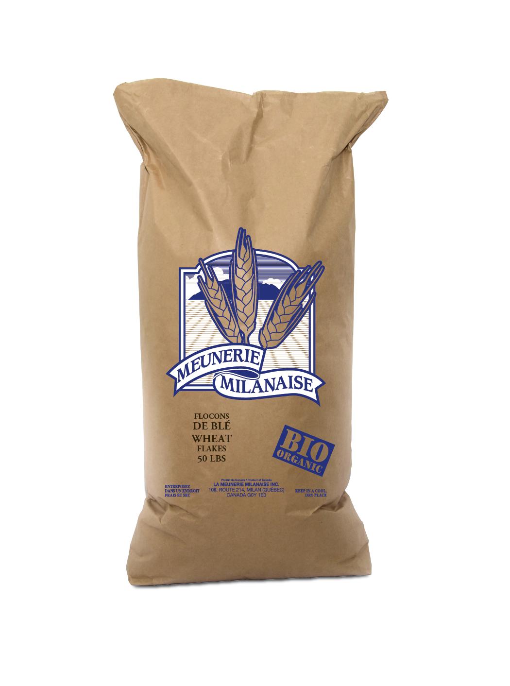 Organic Wheat Flakes