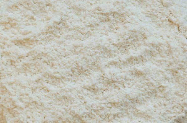 farine blanche non blanchi