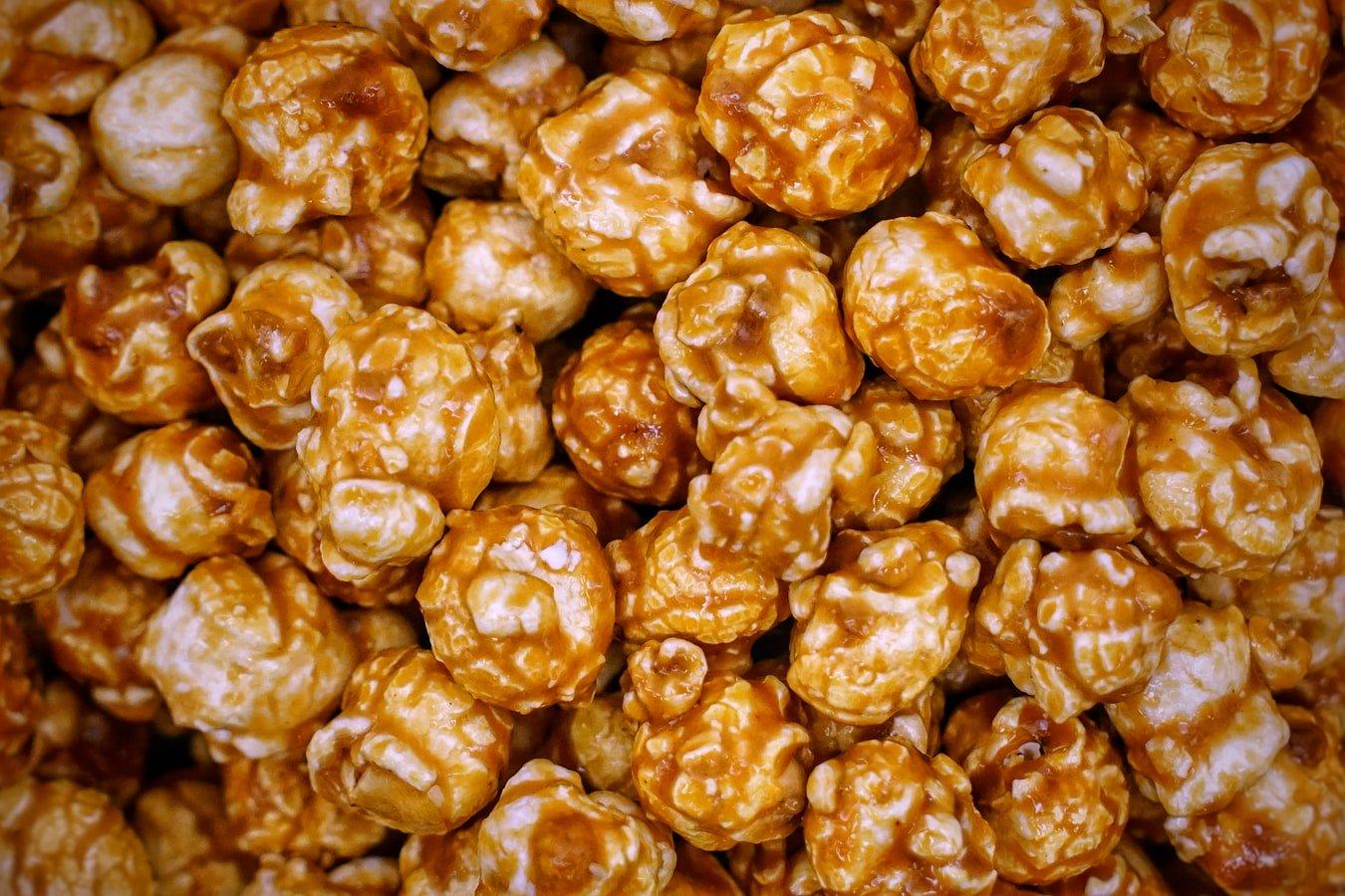 popcorn au caramel hyper rapide