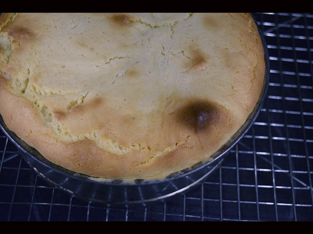 Japanese lemon cheesecake