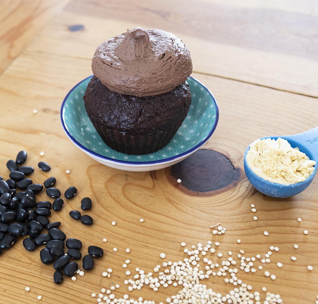Recette de cupcake quinoa et chocolat