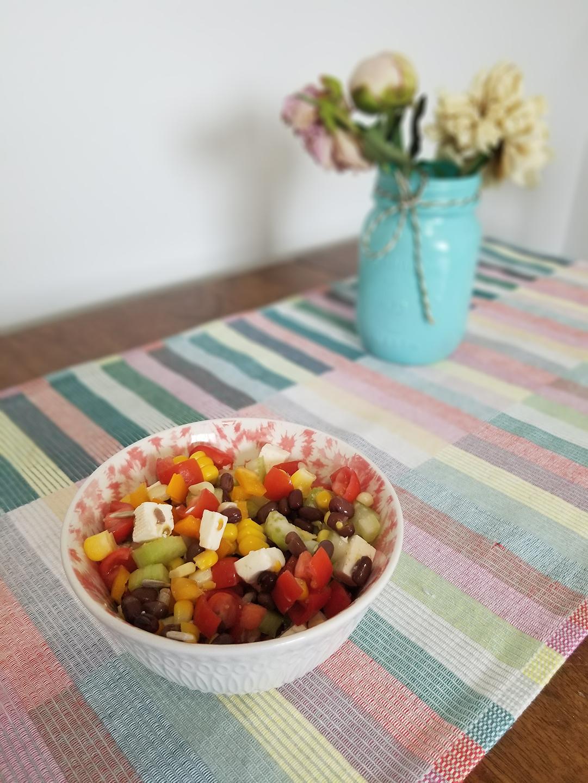 Salade estivale aux fèves adzuki